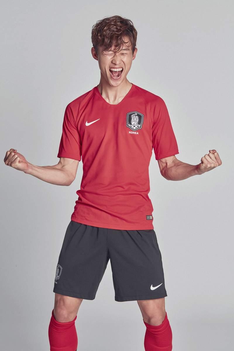 Corée 2018 maillot foot domicile coupe du monde 2018