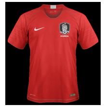 Corée du Sud 2018 maillot domicile foot coupe du monde 2018