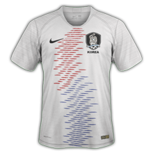 Corée du Sud 2018 maillot exterieur foot coupe du monde 2018
