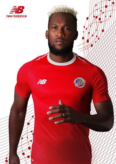 Costa Rica 2018 maillot New Balance domicile coupe du monde 2018