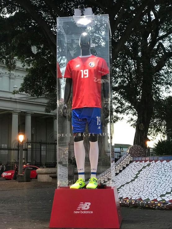 Costa Rica 2018 maillot de foot domicile coupe du monde 2018 presentation