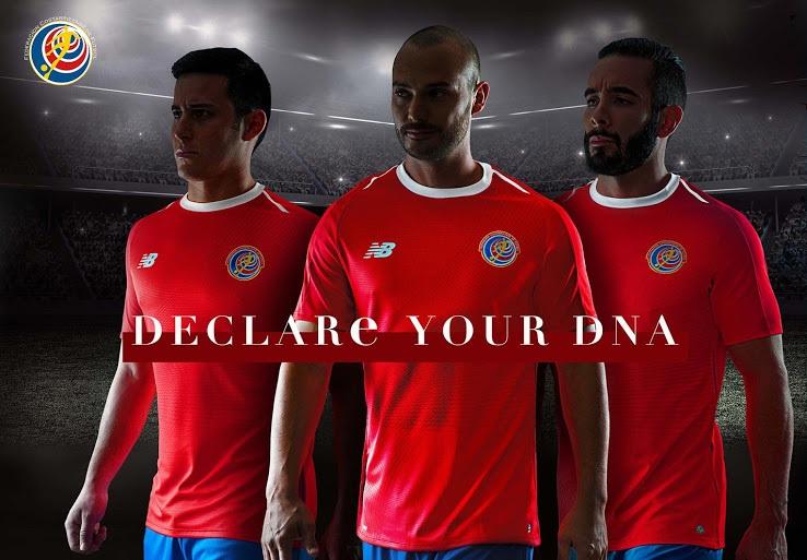 Costa Rica 2018 maillot de foot domicile coupe du monde 2018