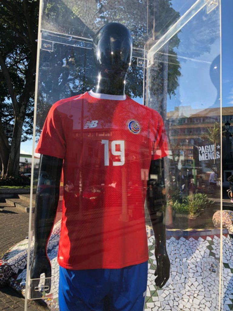 Costa Rica 2018 maillot domicile coupe du monde 2018