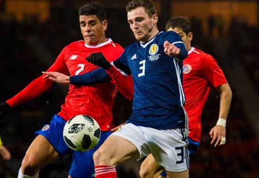 Costa Rica 2018 maillot foot coupe du monde contre ecosse