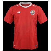 Costa Rica 2018 maillot foot domicile coupe du monde