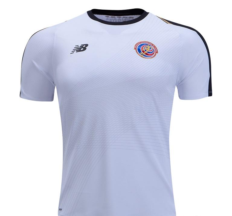 Costa Rica 2018 maillot foot exterieur coupe du monde 2018