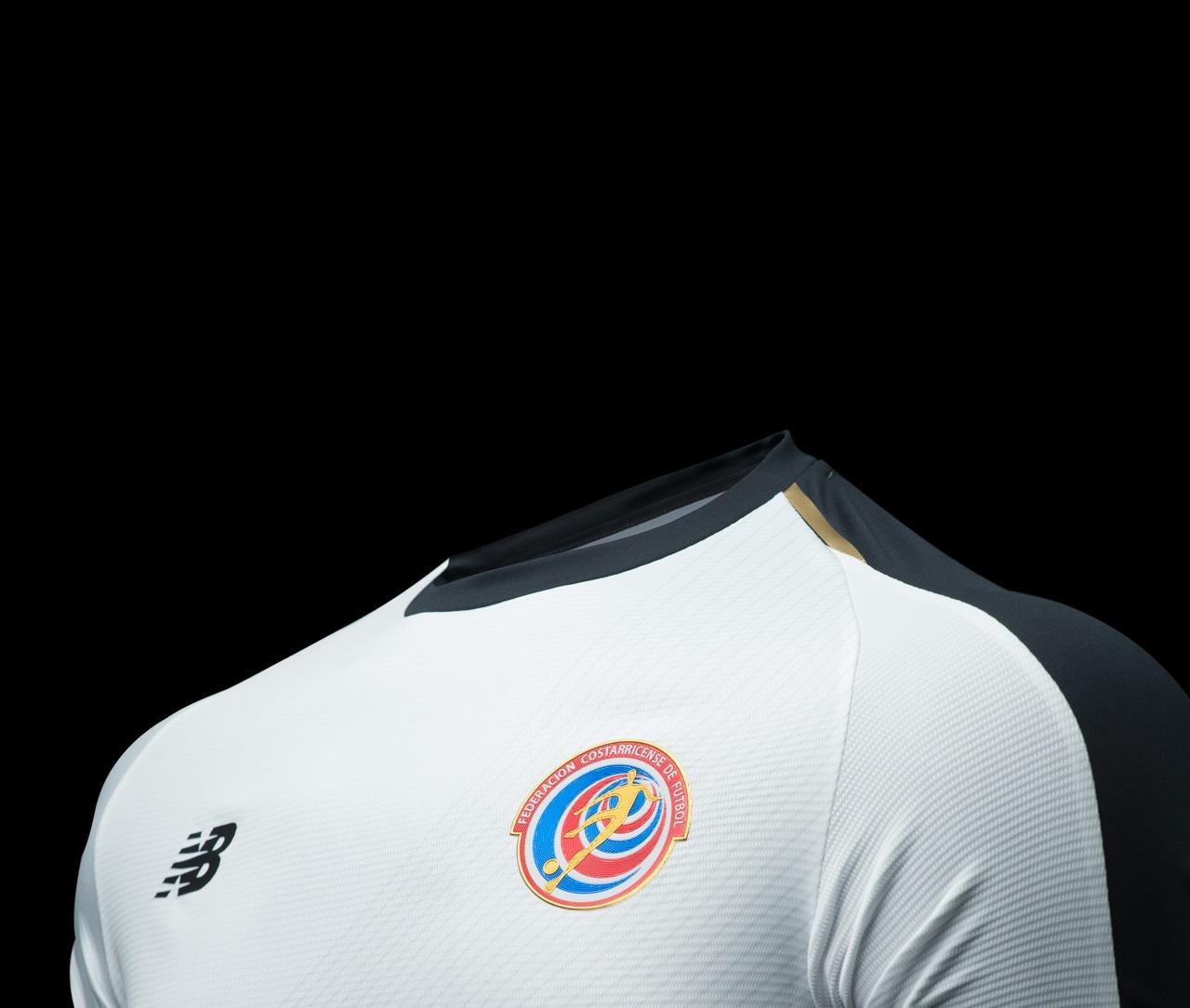 Costa Rica 2018 maillot football exterieur coupe du monde 2018