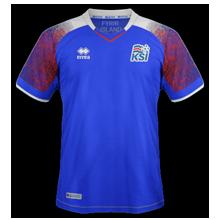 Islande 2018 maillot foot domicile coupe du monde 2018