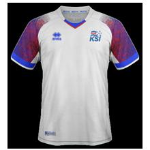 Islande 2018 maillot exterieur coupe du monde 2018