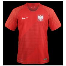 Pologne 2018 maillot de foot exterieur coupe du monde 2018