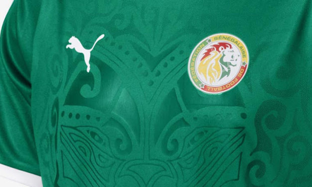 Les maillots Puma du Senegal 2018 coupe du monde 2018