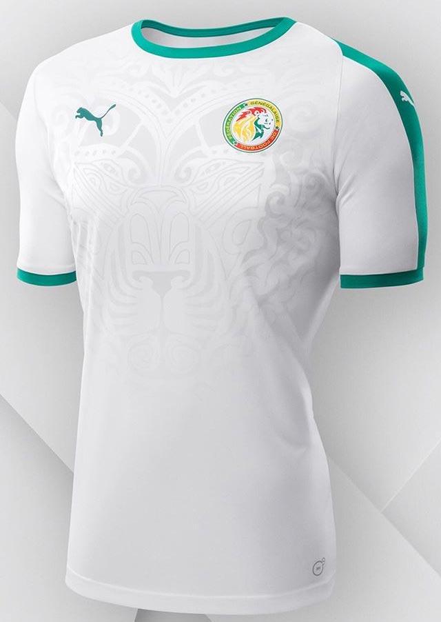 Senegal 2018 maillot foot domicile coupe du monde 2018