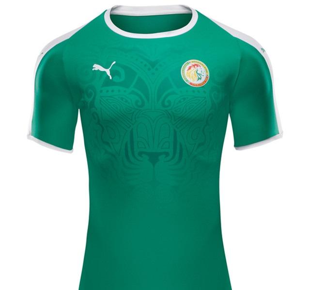 Senegal 2018 maillot foot exterieur coupe du monde 2018