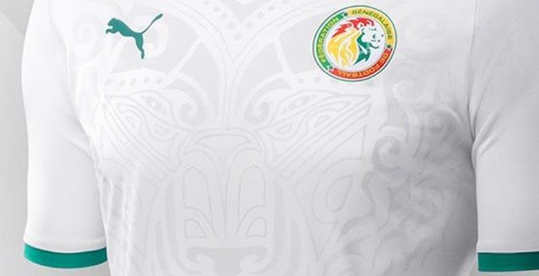 Senegal maillot foot domicile coupe du monde 2018 blanc