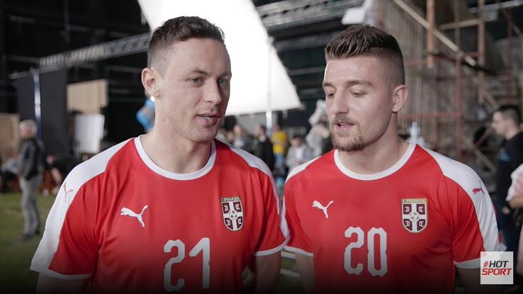 Serbie 2018 maillot foot domicile football CDM2018 Puma