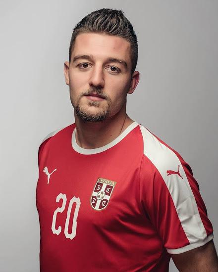 Serbie 2018 maillot foot domicile coupe du monde 2018 Puma