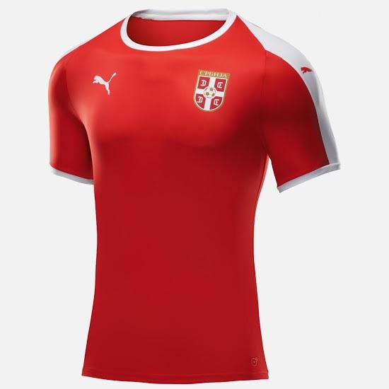 Serbie 2018 maillot foot domicile coupe du monde 2018 officiel