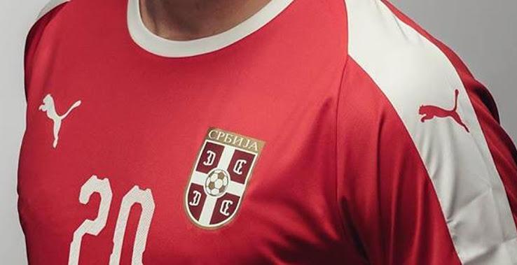 Serbie 2018 maillot foot domicile coupe du monde 2018