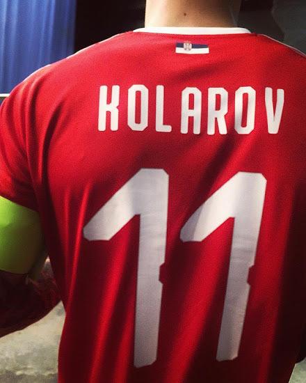 Serbie 2018 maillot foot domicile coupe du monde flocage