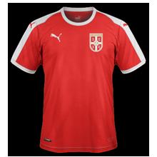 Serbie 2018 maillot foot possible coupe du monde 2018
