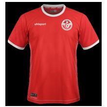 Tunisie 2018 maillot exterieur coupe du monde 2018 Uhlsport
