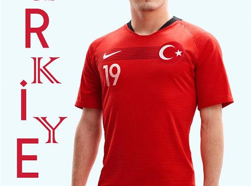 Nouveaux maillots de foot Turquie 2018 par Nike