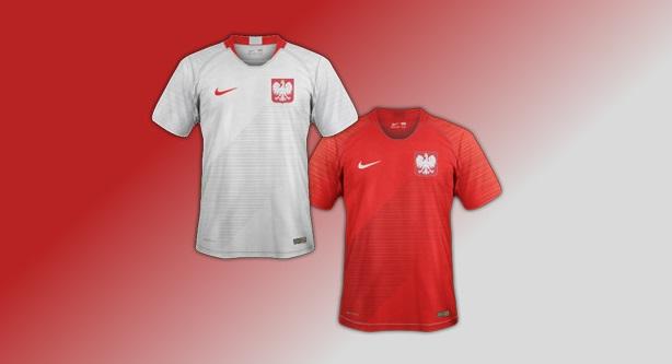 nouveaux maillots Pologne 2018 coupe du monde 2018