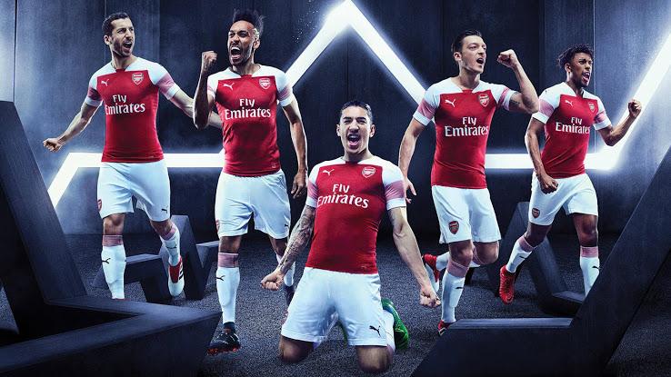 Arsenal 2019 maillot domicile foot Puma