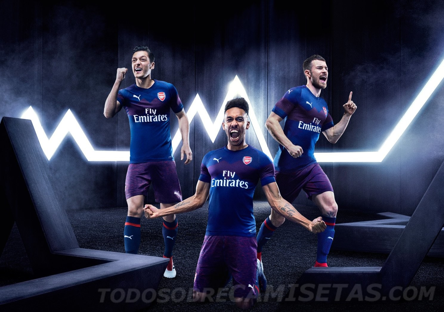 Arsenal 2019 maillot extérieur