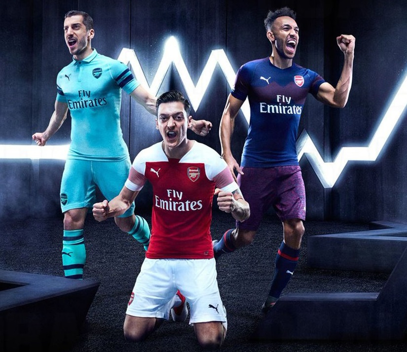 Arsenal 2019 maillots de football 2018 2019