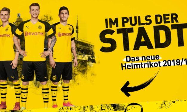 Borussia Dortmund 2019 les nouveaux maillots par Puma
