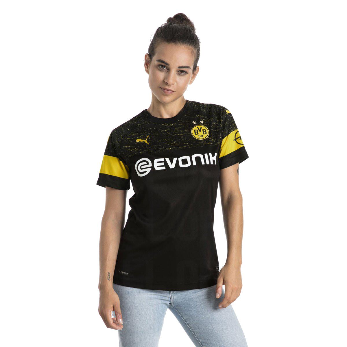 BVB Dortmund 2019 maillot extérieur noir 18 19
