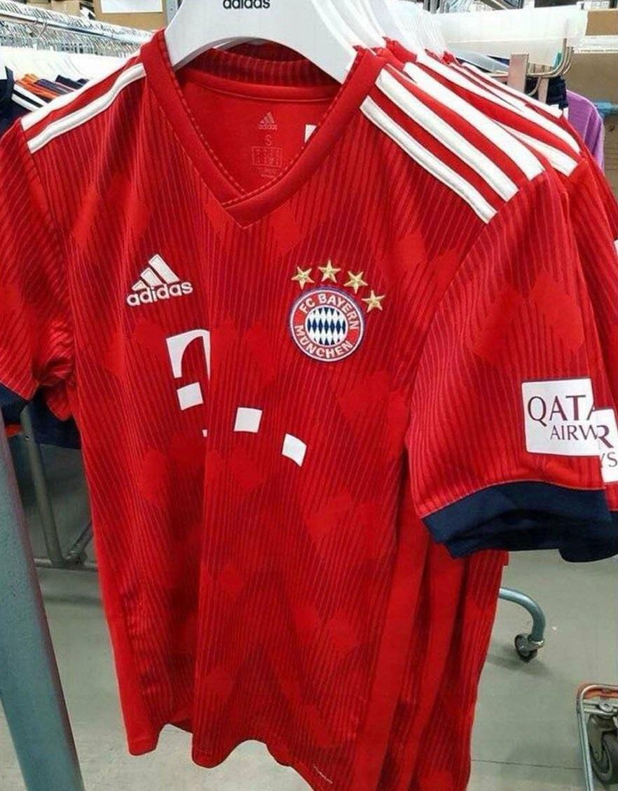 Bayern Munich 2019 maillot domicile 18 19
