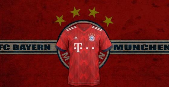 Bayern Munich 2019 maillot domicile football 18 19