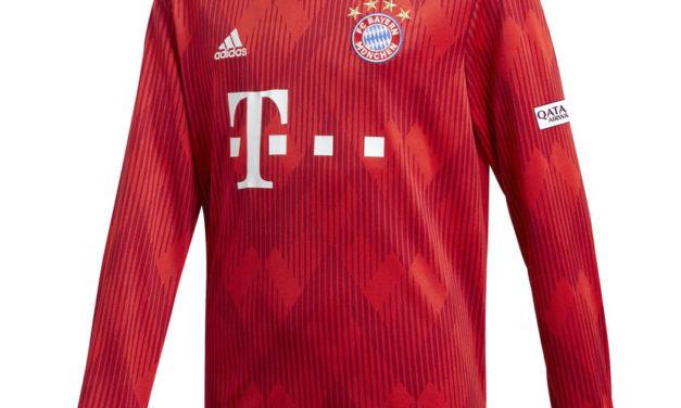 Bayern Munich 2019 infos nouveaux maillots 18-19 par Adidas