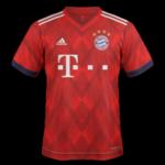 Bayern Munich 2019 nouveau maillot domicile 18 19
