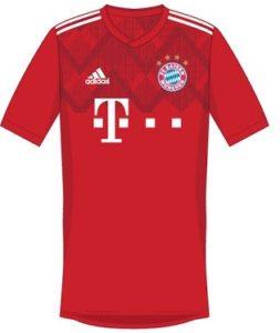 Bayern Munich 2019 possible maillot domicile