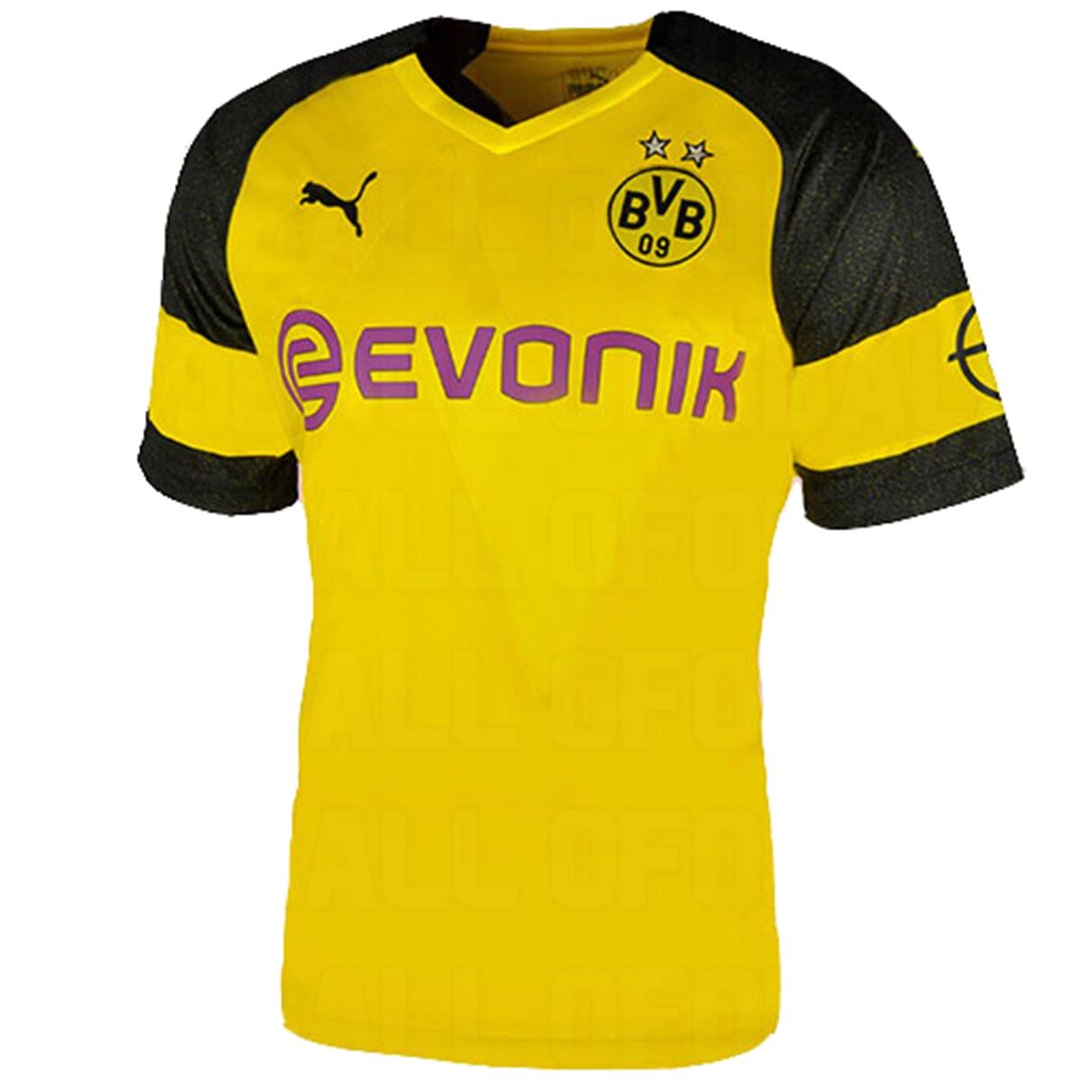 Borussia Dortmund 2019 maillot de foot domicile