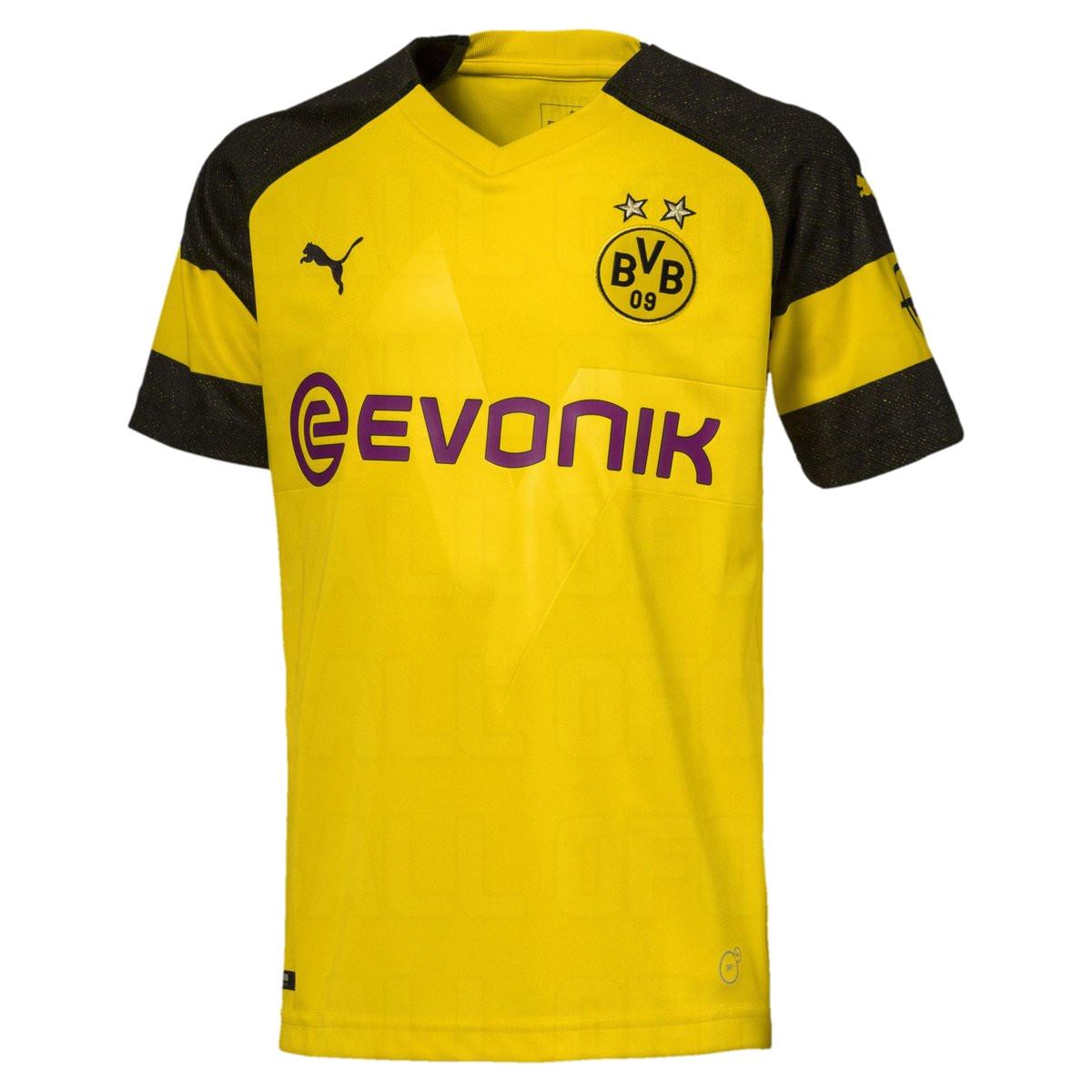 tenue de foot Borussia Dortmund nouvelle