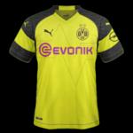 Borussia Dortmund 2019 maillot domicile football 18 19