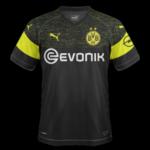 Borussia Dortmund 2019 maillot exterieur football 18 19