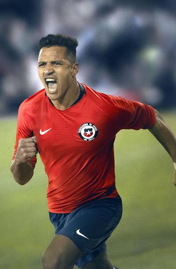 Chili 2018 maillot foot domicile