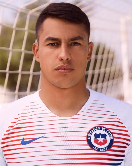 Chili 2018 maillot football extérieur