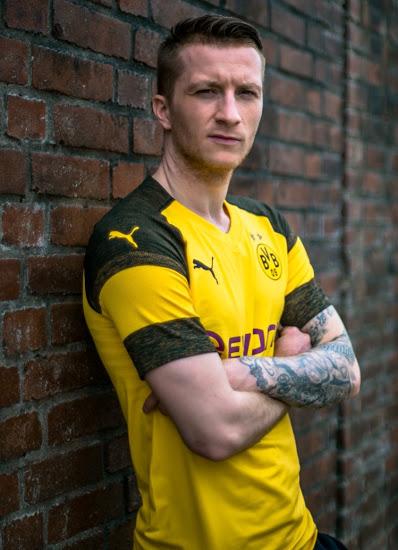 Dortmund 2019 mailllot domicile officiel Puma