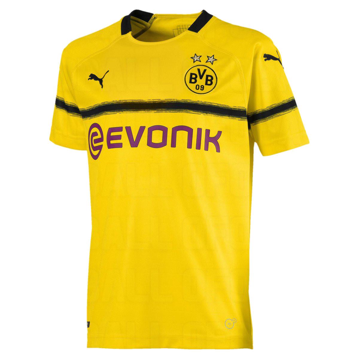 Dortmund 2019 maillot football ligue des champions 18 19 BVB