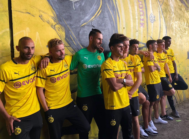 Dortmund 2019 maillot ligue des champions 18 19 officiel