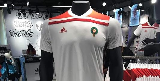Maroc 2018 maillot extérieur foot coupe du monde 2018