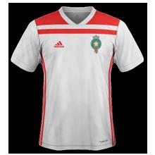 Maroc 2018 maillot exterieur coupe du monde 2018