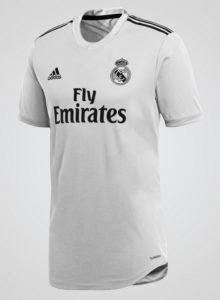 Real Madrid 2019 prediction maillot domicile