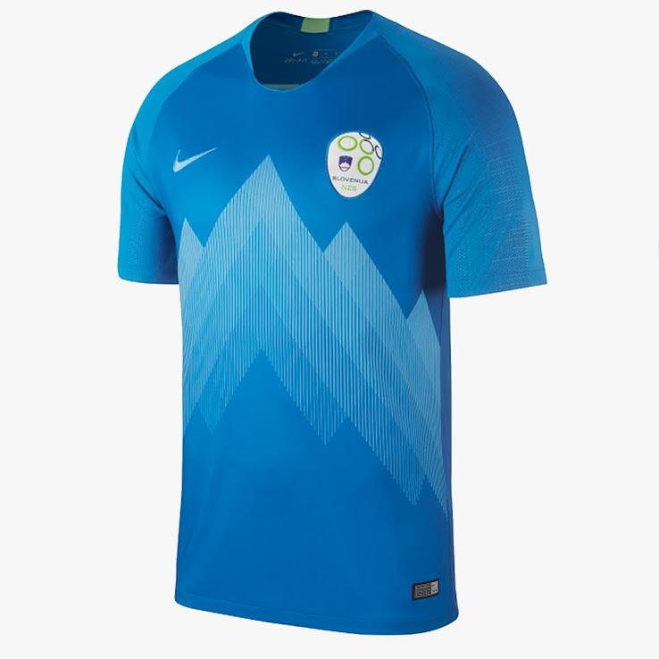 Slovenie 2018 maillot extérieur foot